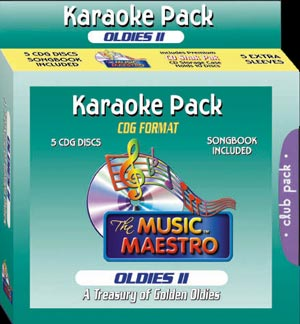 Music Maestro CPOII - Club Pack Oldies II - 5 Albums Kit