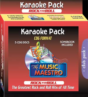 The Music Maestro CPRR - Club Pack Rock 'N' Roll