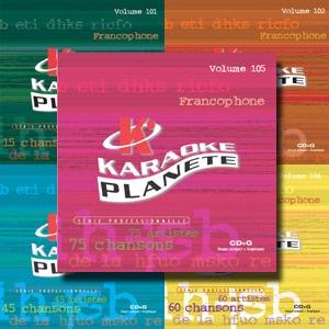 Karaoké Planète KPF52341 - Première collection française de 75 chansons sur 5 albums kit