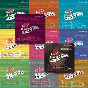 Karaoké Planète KPFC165 - 165 Chansons françaises de qualité supérieur - 11 albums kit
