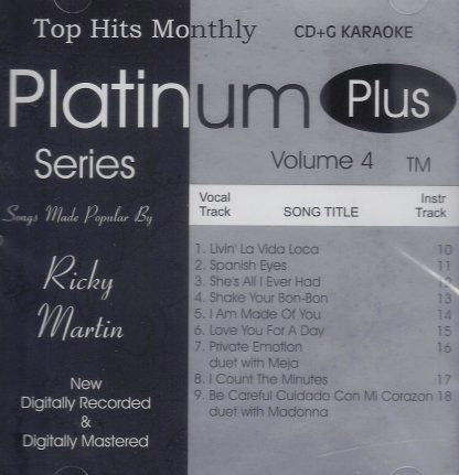Top Hits Monthly THPLP04-USED - Ricky Martin