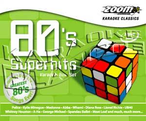 Zoom Karaoke Z80SSH - 80's Superhits