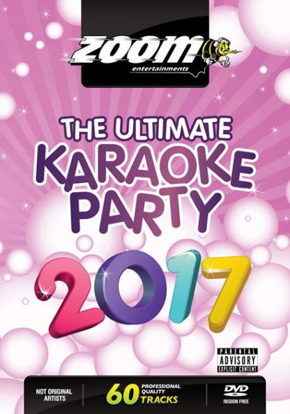 Zoom Karaoke ZDVD2023 - Ultimate Karaoke Party 2017 - 2 DVD Albums Kit