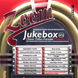 Zoom Karaoke ZJB15 - Jukebox Classic Oldies - Volume 15
