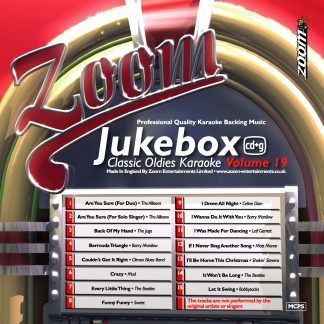 Zoom Karaoke ZJB19 - Jukebox Classic Oldies - Volume 19