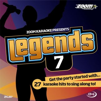 Zoom Karaoke ZKL007 - Legends 7 - Karaoke hits to sing along to!