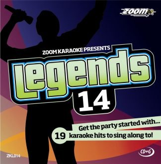 Zoom Karaoke ZKL014 - Legends 14 - 19 Karaoke hits to sing along to!
