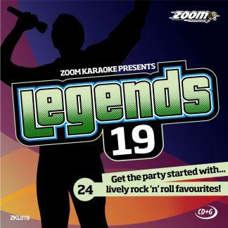 Zoom Karaoke ZKL019 - Legends 19 - Shakin' Stevens