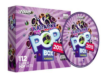 Zoom Karaoke ZPBX2015 - Pop Box 2015: A Year in Karaoke - 6 Albums Kit