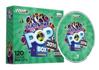 Zoom Karaoke ZPBX2016 - Pop Box 2016: A Year in Karaoke - 6 Albums Kit