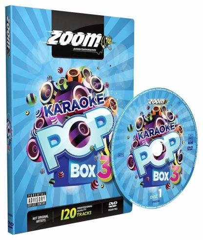 Zoom Karaoke ZPBX3DVD - Pop Box 3 - 4 Albums Kit