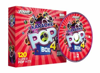 Zoom Karaoke ZPBX4CDG - Pop Box 4 - 6 Albums Kit