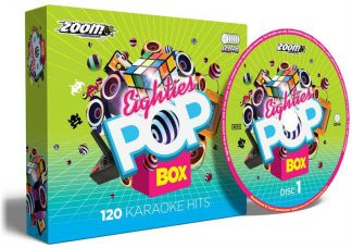 Zoom Karaoke ZPBX80S - Eighties Pop Box - 6 Albums Kit