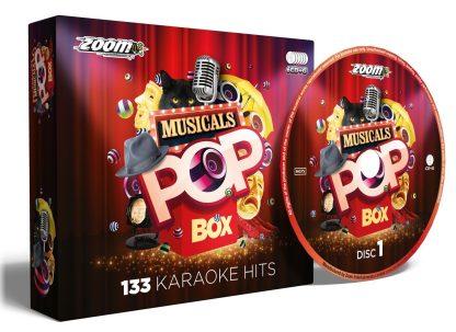 Zoom Karaoke ZPBXMUSI - Pop Box Musicals - 6 Albums Kit