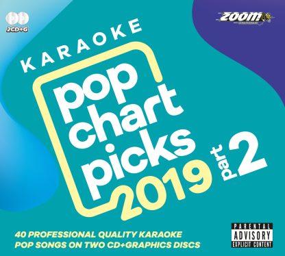 Zoom Karaoke ZPCP2019II - Pop Chart Picks 2019 Part 2 - 2 Albums Kit