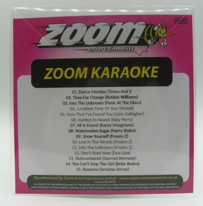 Zoom Karaoke ZPCP2019IX - Pop Chart Picks 2019 Part 9