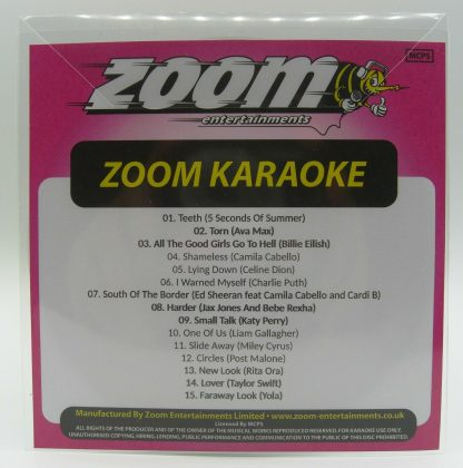 Zoom Karaoke ZPCP2019VI - Pop Chart Picks 2019 Part 7