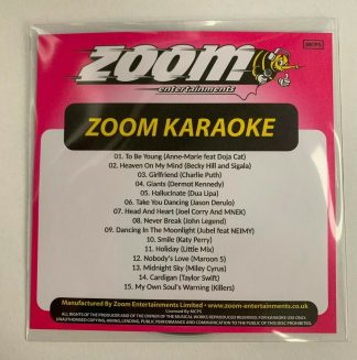 Zoom Karaoke ZPCP2020-6 - Pop Chart Picks 2020 - Part 6