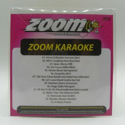 Zoom Karaoke ZPCP2020-7 - Pop Chart Picks 2020 - Part 7