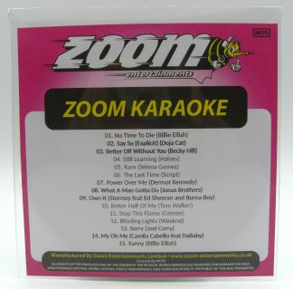 Zoom Karaoke ZPCP2020III - Pop Chart Picks 2020 - Part 2