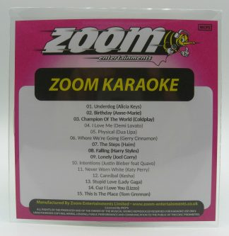 Zoom Karaoke ZPCP2020III - Pop Chart Picks 2020 - Part 3