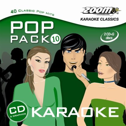 Zoom Karaoke ZPP10 - Pop Pack 10