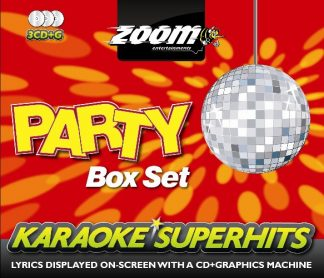 Zoom Karaoke ZSH001 - Party Superhits Pack - 3 Albums Kit