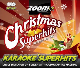 Zoom Karaoke ZSH007 - Christmas Superhits Pack - 3 Albums Kit