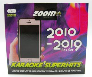 Zoom Karaoke ZSH013 - Superhits CD+G 2010-2019 - 3 Albums kit