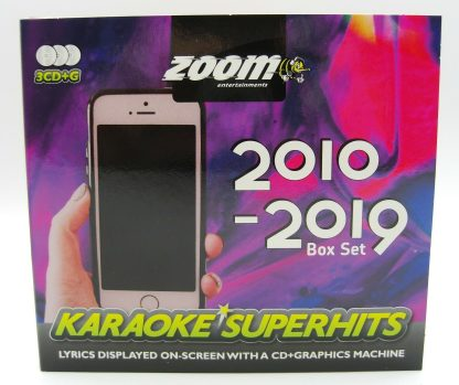 Zoom Karaoke ZSH013 - Superhits CD+G 2010-2019 - 3 Albums kit