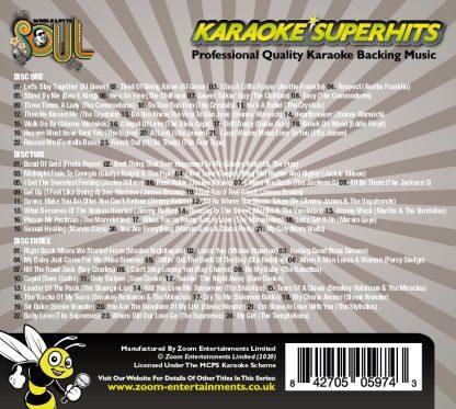 Zoom Karaoke ZSH015 - Whole Lotta Soul Superhits Pack - 3 Albums Kit