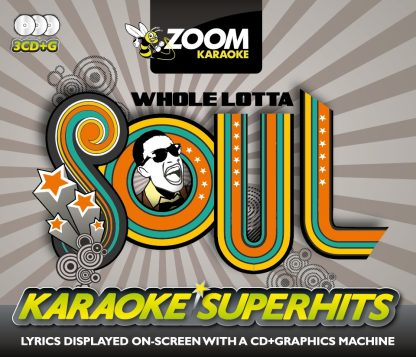Zoom Karaoke ZSH015 - Whole Lotta Soul Superhits Pack - 3 Albums Kit