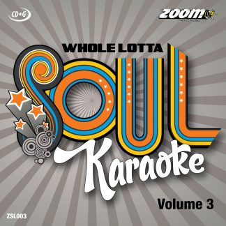 Zoom Karaoke ZSL003 - Whole Lotta Soul - Volume 3