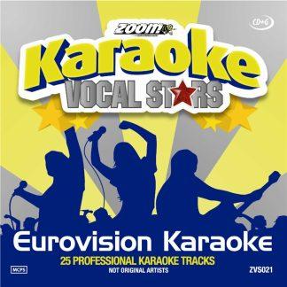 Zoom Karaoke ZVS021 - Eurovision Song Contest Karaoke