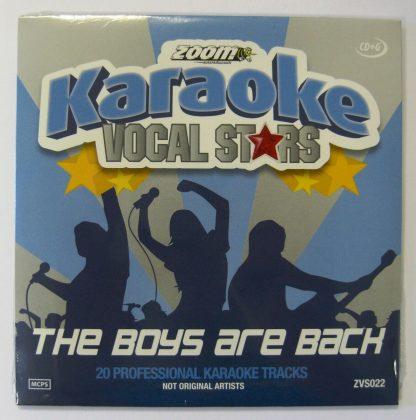 Zoom Karaoke ZVS022 - The Boys Are Back