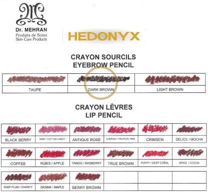 Dark Brown Eyebrow Pencil