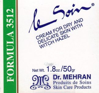 Formula 3512 - Cream for Dry and Delicate Skin with Witch Hazel